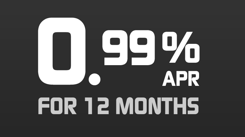 0.99% for 12 Months