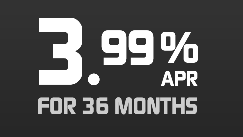3.99% for 36 Months