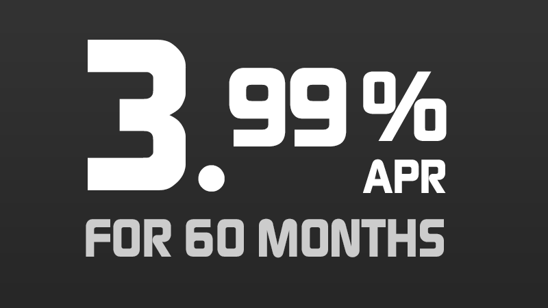 3.99% for 60 Months [4.25540% APR*]