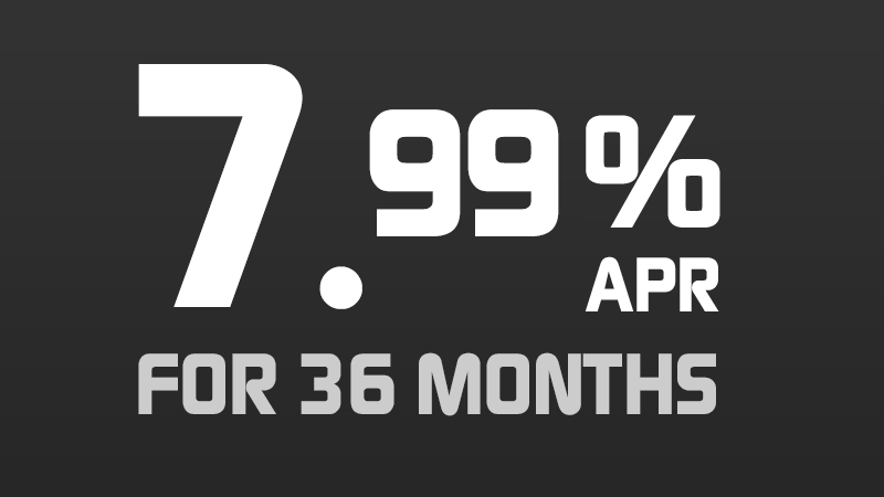 7.99% APR for 36 Months*