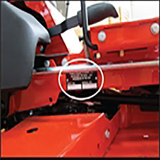 Find Your Mower Serial Number